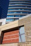 αρχιτεκτονική που χτίζε&iot Στοκ Εικόνα