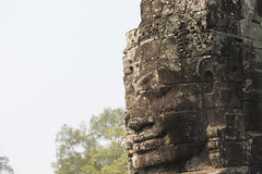 Αρχιτεκτονική προσώπου Θεών σε Angkor Wat Στοκ Εικόνα