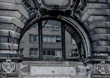Αρχιτεκτονική πόλεων της Νέας Υόρκης Στοκ φωτογραφία με δικαίωμα ελεύθερης χρήσης