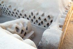 Αρχιτεκτονική πλίθας σε Chan Chan Στοκ Φωτογραφίες