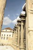 Αρχιτεκτονική, ρωμαϊκή ιστορία στην Αθήνα Στοκ εικόνα με δικαίωμα ελεύθερης χρήσης