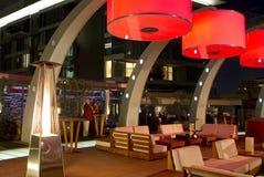 Αρχιτεκτονική σαλονιών στεγών θερέτρου πολυτέλειας Στοκ Φωτογραφία