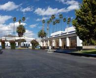 Αρχιτεκτονική σε μια ηλιόλουστη ημέρα του πανεπιστημίου Chapingo στοκ φωτογραφία