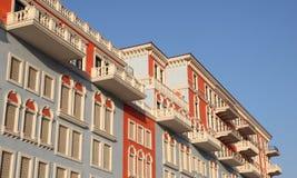 Αρχιτεκτονική σε Doha, Κατάρ Στοκ εικόνες με δικαίωμα ελεύθερης χρήσης