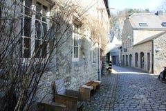 Αρχιτεκτονική σε Durbuy, Βέλγιο στοκ εικόνες με δικαίωμα ελεύθερης χρήσης