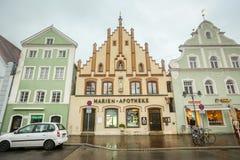 Αρχιτεκτονική σε Freising Στοκ Φωτογραφία