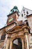 αρχιτεκτονική στην Ευρώπη Στοκ Εικόνες