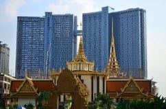 Αρχιτεκτονική στην Καμπότζη Πνομ Πενχ Στοκ Φωτογραφία