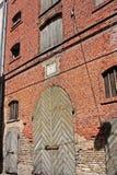 Αρχιτεκτονική στην παλαιά Ρήγα, Λετονία Στοκ φωτογραφίες με δικαίωμα ελεύθερης χρήσης