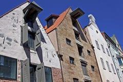 Αρχιτεκτονική στην παλαιά Ρήγα, Λετονία Στοκ Φωτογραφία