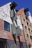 Αρχιτεκτονική στην παλαιά Ρήγα, Λετονία Στοκ εικόνες με δικαίωμα ελεύθερης χρήσης