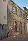 Αρχιτεκτονική στην παλαιά Ρήγα, Λετονία Στοκ φωτογραφία με δικαίωμα ελεύθερης χρήσης