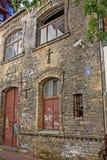 Αρχιτεκτονική στην παλαιά Ρήγα, Λετονία Στοκ Εικόνες