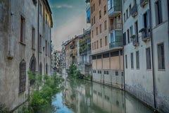 Αρχιτεκτονική στην πόλη Πάδοβα, Ιταλία Στοκ εικόνα με δικαίωμα ελεύθερης χρήσης