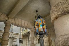 Αρχιτεκτονική στην πόλη της Βερόνα, Ιταλία Στοκ φωτογραφίες με δικαίωμα ελεύθερης χρήσης
