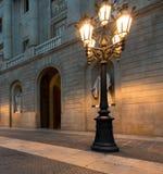Αρχιτεκτονική στη Βαρκελώνη Στοκ Φωτογραφίες