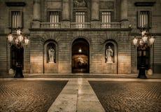 Αρχιτεκτονική στη Βαρκελώνη Στοκ φωτογραφία με δικαίωμα ελεύθερης χρήσης