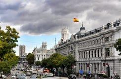 Αρχιτεκτονική στη Μαδρίτη, Ισπανία Στοκ Φωτογραφίες