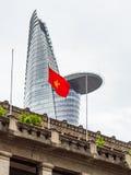 Αρχιτεκτονική στη πόλη Χο Τσι Μινχ Στοκ Φωτογραφία