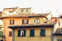Αρχιτεκτονική στη Φλωρεντία, Τοσκάνη, Ιταλία, πολιτισμική κληρονομιά Στοκ Εικόνες