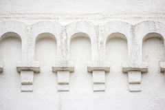 Αρχιτεκτονική στοιχείων της εκκλησίας Στοκ Εικόνες