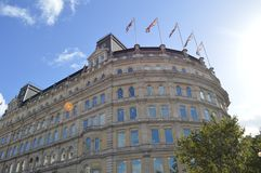 Αρχιτεκτονική στο Λονδίνο στοκ εικόνα με δικαίωμα ελεύθερης χρήσης