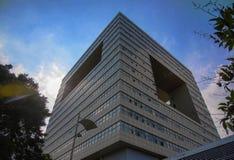 Αρχιτεκτονική στο πανεπιστήμιο Shenzhen, Κίνα Στοκ φωτογραφία με δικαίωμα ελεύθερης χρήσης