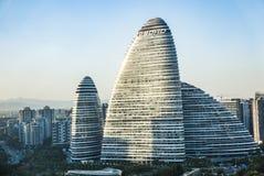 Αρχιτεκτονική στο Πεκίνο Στοκ Εικόνα