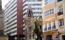 Αρχιτεκτονική, στο cristal coruna Γαλικία πόλεων Α Στοκ εικόνες με δικαίωμα ελεύθερης χρήσης