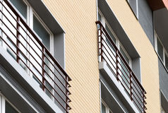 αρχιτεκτονική σύγχρονη Κοινωνική κατοικία Στοκ Εικόνες