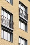 αρχιτεκτονική σύγχρονη Κοινωνική κατοικία Στοκ Φωτογραφίες