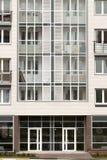 αρχιτεκτονική σύγχρονη Κοινωνική κατοικία Στοκ Εικόνα