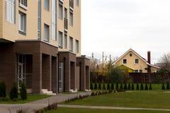 αρχιτεκτονική σύγχρονη Κοινωνική κατοικία Στοκ εικόνες με δικαίωμα ελεύθερης χρήσης