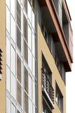 αρχιτεκτονική σύγχρονη Κοινωνική κατοικία Στοκ φωτογραφία με δικαίωμα ελεύθερης χρήσης