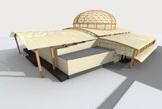 αρχιτεκτονική σύγχρονη ελεύθερη απεικόνιση δικαιώματος