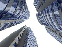 αρχιτεκτονική σύγχρονη διανυσματική απεικόνιση
