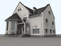 αρχιτεκτονική σύγχρονη απεικόνιση αποθεμάτων