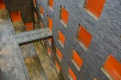 Αρχιτεκτονική σύγχρονου σχεδίου στοκ εικόνα
