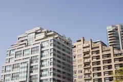 αρχιτεκτονική σύγχρονο Σιάτλ Στοκ Εικόνες
