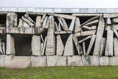 Αρχιτεκτονική, σύγχρονο ύφος, έδρα SGAE/ίδρυμα Στοκ Εικόνες