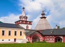 αρχιτεκτονική τα παλαιά ρωσικά Στοκ Εικόνες