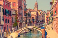 Αρχιτεκτονική της Βενετίας Ιταλία Στοκ Φωτογραφίες