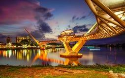 αρχιτεκτονική της γέφυρας της Hana darul στοκ εικόνες