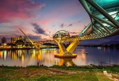 αρχιτεκτονική της γέφυρας της Hana darul στοκ εικόνα με δικαίωμα ελεύθερης χρήσης