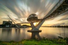 αρχιτεκτονική της γέφυρας της Hana darul στοκ φωτογραφίες