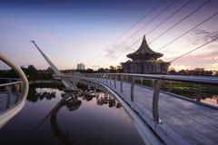 αρχιτεκτονική της γέφυρας της Hana darul στοκ εικόνα