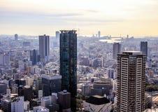Αρχιτεκτονική της Ιαπωνίας ουρανοξύστες Τόκιο Στοκ φωτογραφία με δικαίωμα ελεύθερης χρήσης