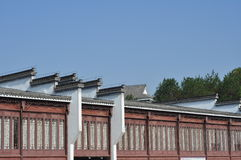 Αρχιτεκτονική 7 της Κίνας Huizhou Στοκ Φωτογραφίες