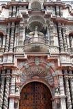 αρχιτεκτονική της Λίμα παλαιό Περού Στοκ Φωτογραφία