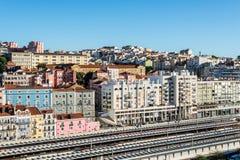 Αρχιτεκτονική της Λισσαβώνας, Πορτογαλία Στοκ Φωτογραφία